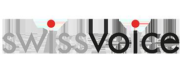 לוגו Swissvoice