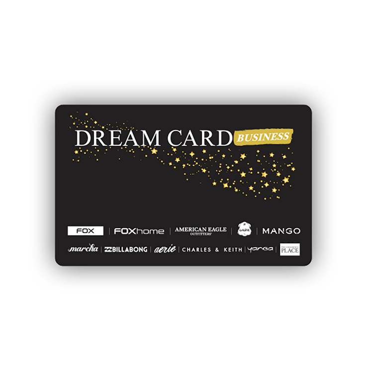 כרטיס DREAM CARD בשווי 75 ₪