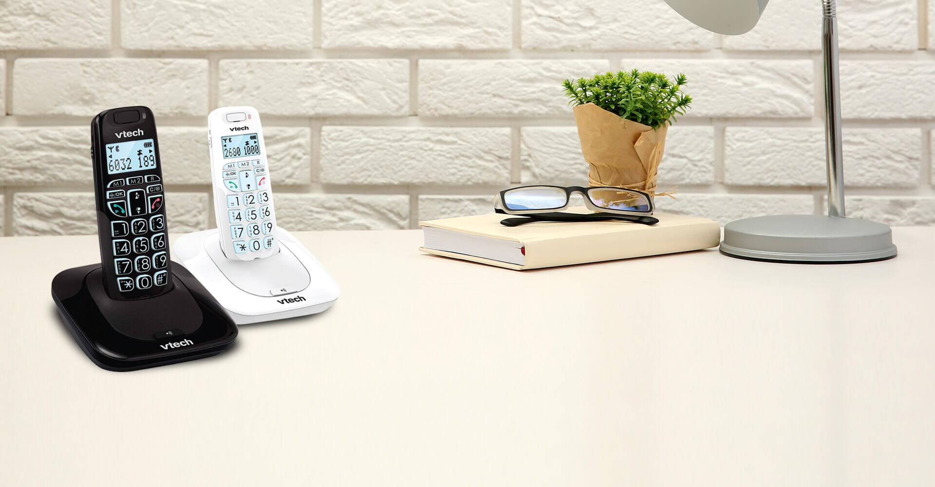 הוראות חדשות טלפון אלחוטי ייעודי לכבדי שמיעה VTECH SLB 150 - בזק SZ-59